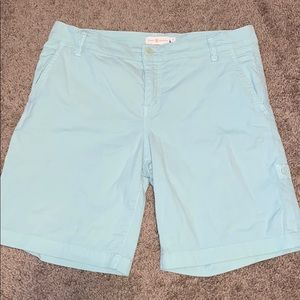 Tory Burch mint green shorts sz 28